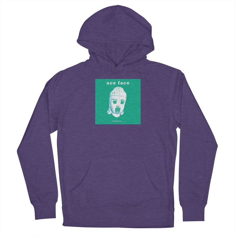 ACE FACE Buddha [AQUAMARINE GREEN] - ACEMETRICAL Women's Pullover Hoody by ACEMETRICAL ( / ) Disc Golf