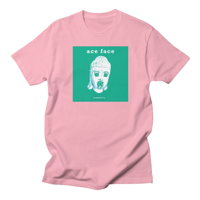 ACE FACE Buddha [AQUAMARINE GREEN] - ACEMETRICAL Men's T-Shirt by ACEMETRICAL ( / ) Disc Golf