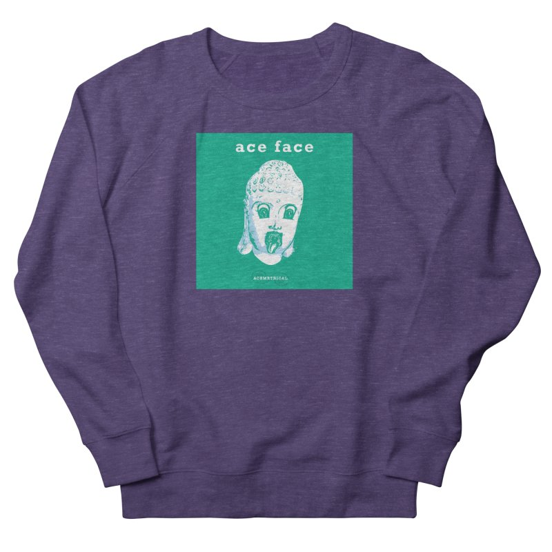 ACE FACE Buddha [AQUAMARINE GREEN] - ACEMETRICAL Men's Sweatshirt by ACEMETRICAL ( / ) Disc Golf