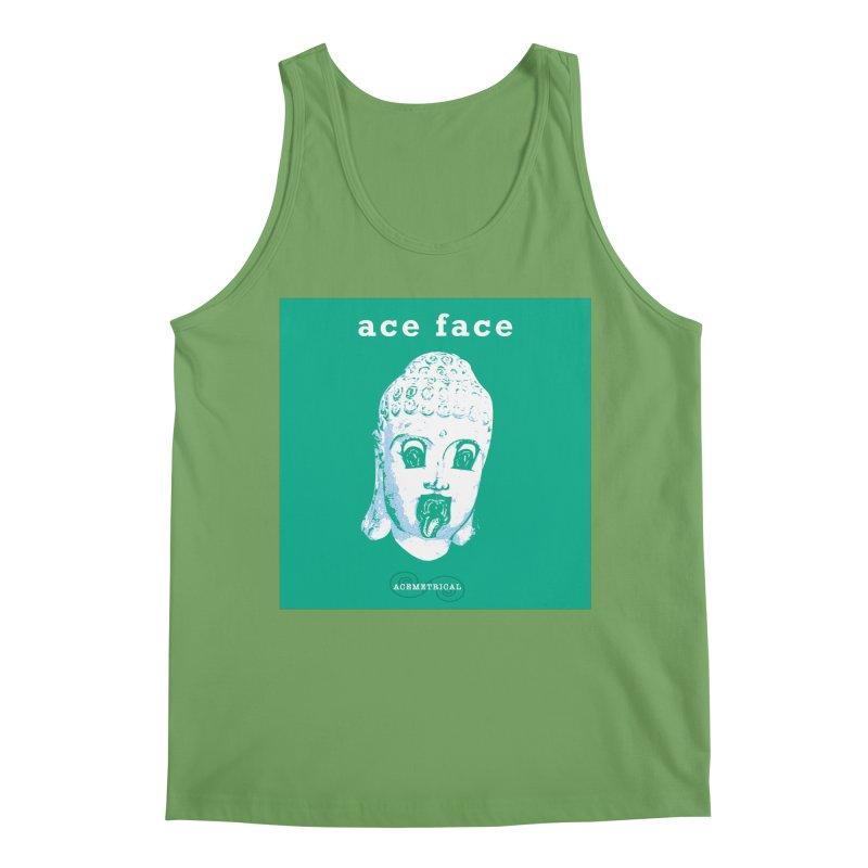 ACE FACE Buddha [AQUAMARINE GREEN] - ACEMETRICAL Men's Tank by ACEMETRICAL ( / ) Disc Golf