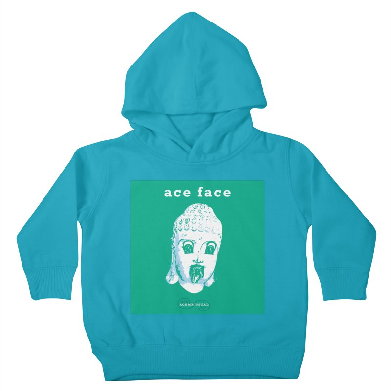ACE FACE Buddha [AQUAMARINE GREEN] - ACEMETRICAL Kids Toddler Pullover Hoody by ACEMETRICAL ( / ) Disc Golf