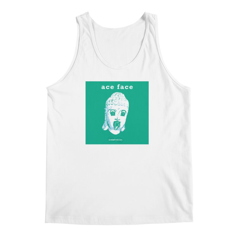 ACE FACE Buddha [AQUAMARINE GREEN] - ACEMETRICAL Men's Regular Tank by ACEMETRICAL ( / ) Disc Golf