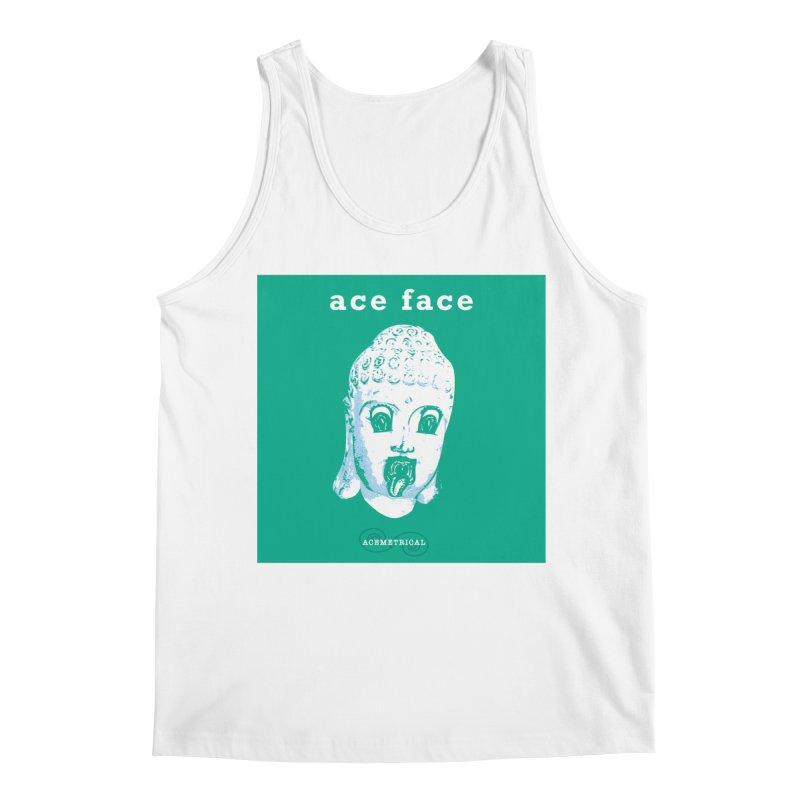 ACE FACE Buddha [AQUAMARINE GREEN] - ACEMETRICAL Men's Regular Tank by ACEMETRICAL ( / ) Disc Golf