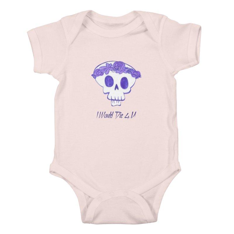 I Would Die 4 U Kids Baby Bodysuit by acestraw's Artist Shop