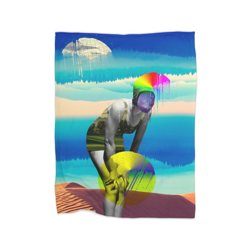Mrs. Flubber Home Blanket by achitafille's Artist Shop