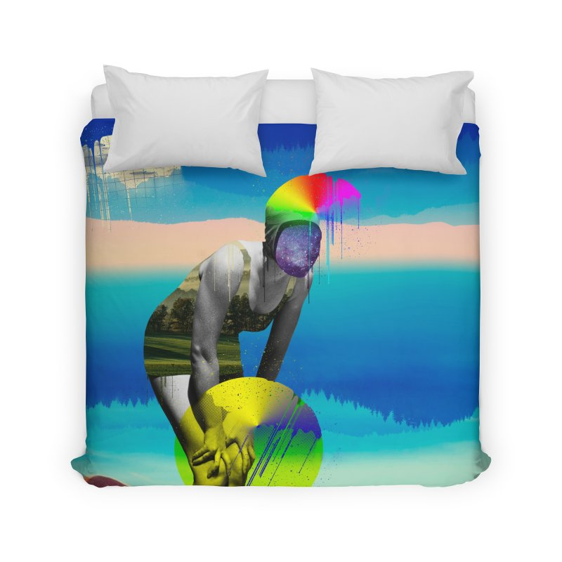 Mrs. Flubber Home Duvet by achitafille's Artist Shop