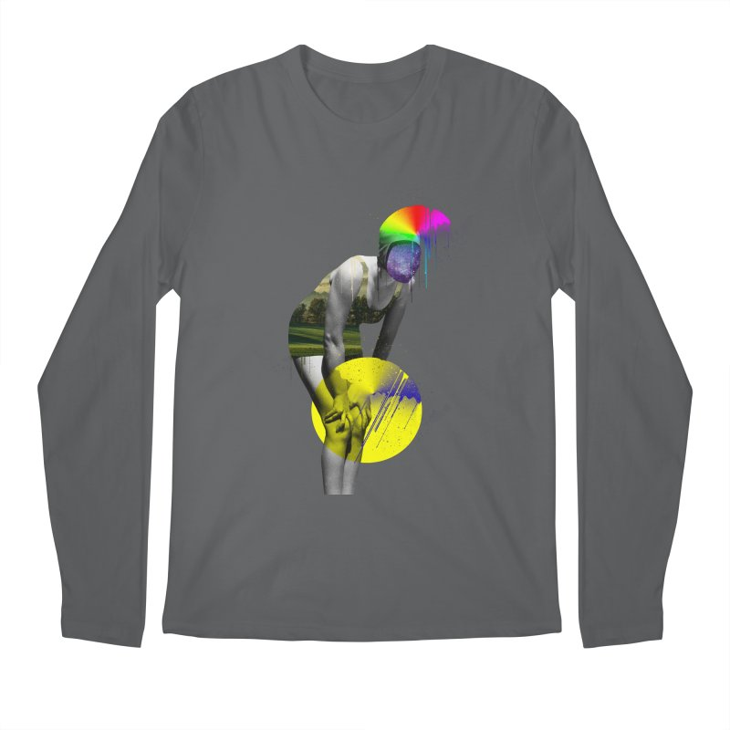 Mrs. Flubber Men's Regular Longsleeve T-Shirt by achitafille's Artist Shop