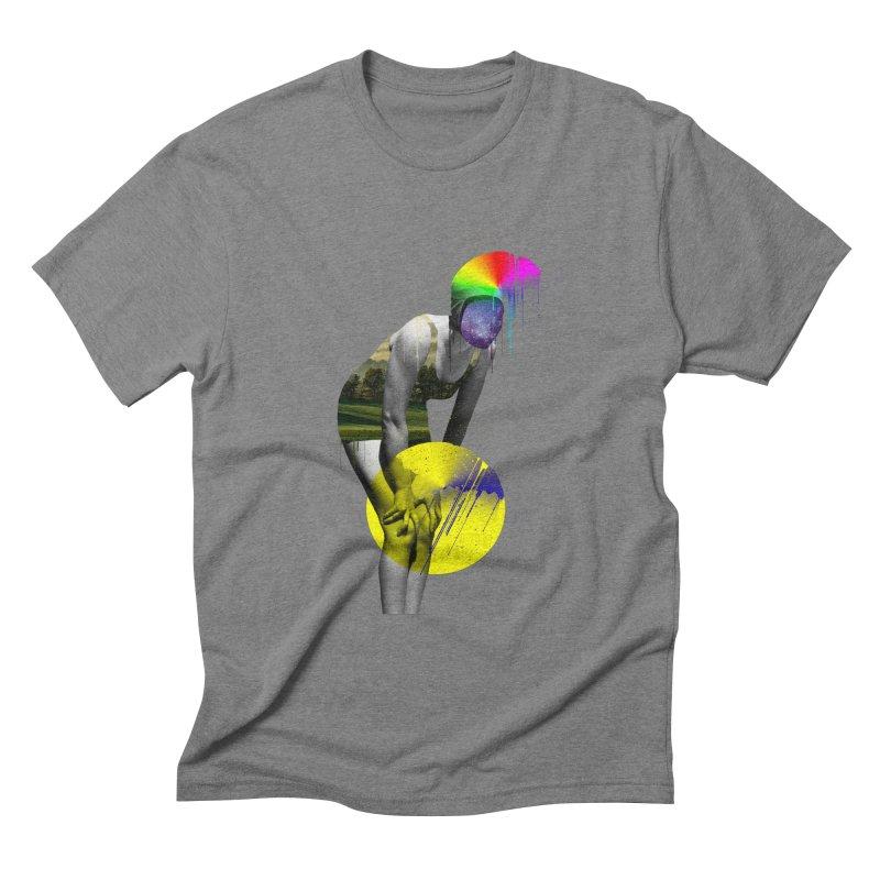 Mrs. Flubber Men's Triblend T-Shirt by achitafille's Artist Shop