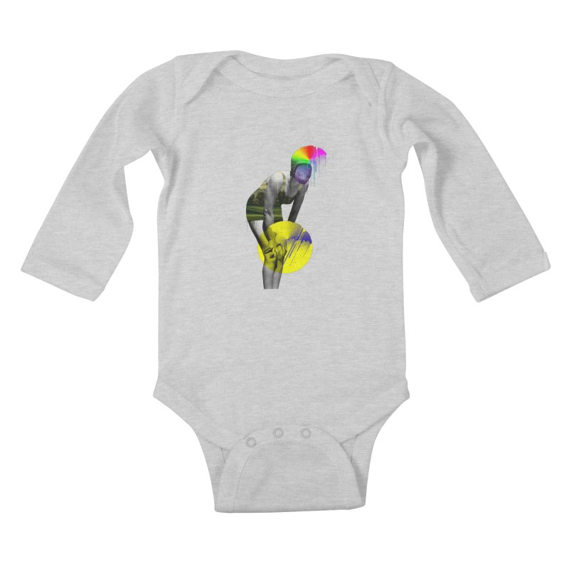 Mrs. Flubber Kids Baby Longsleeve Bodysuit by achitafille's Artist Shop