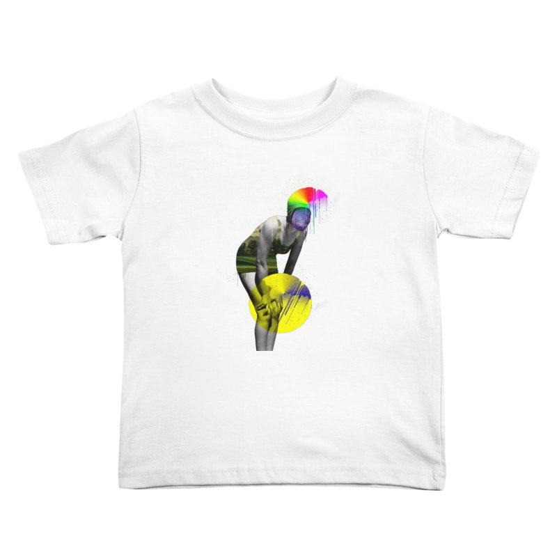 Mrs. Flubber Kids Toddler T-Shirt by achitafille's Artist Shop