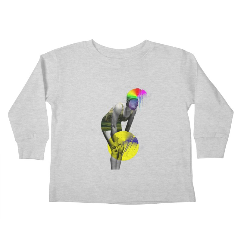 Mrs. Flubber Kids Toddler Longsleeve T-Shirt by achitafille's Artist Shop