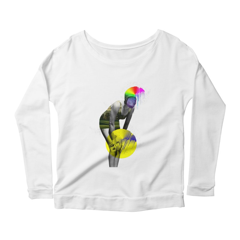 Mrs. Flubber Women's Scoop Neck Longsleeve T-Shirt by achitafille's Artist Shop