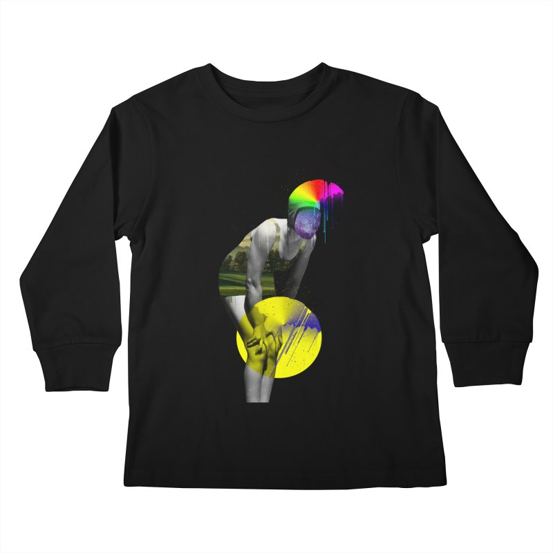 Mrs. Flubber Kids Longsleeve T-Shirt by achitafille's Artist Shop