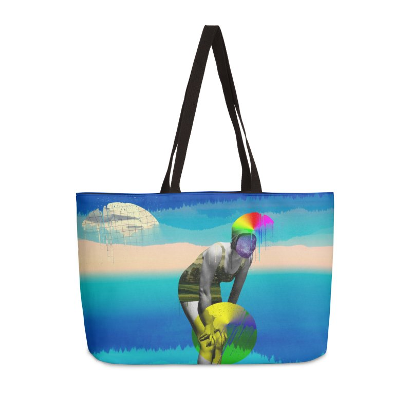 Mrs. Flubber Accessories Weekender Bag Bag by achitafille's Artist Shop