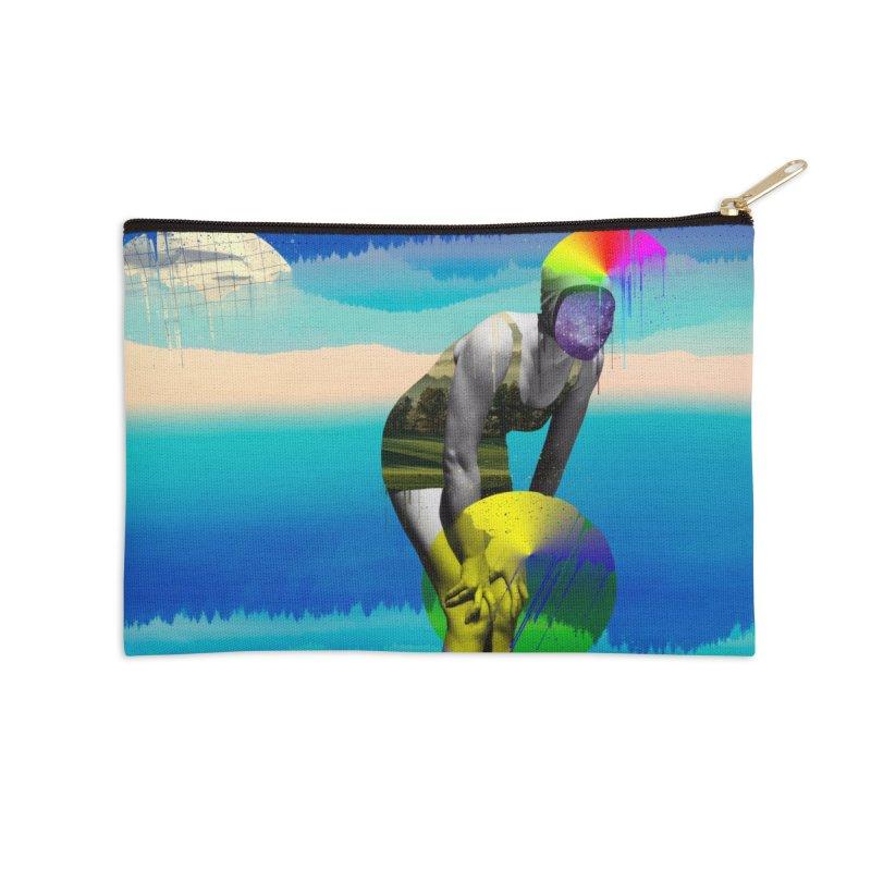 Mrs. Flubber Accessories Zip Pouch by achitafille's Artist Shop