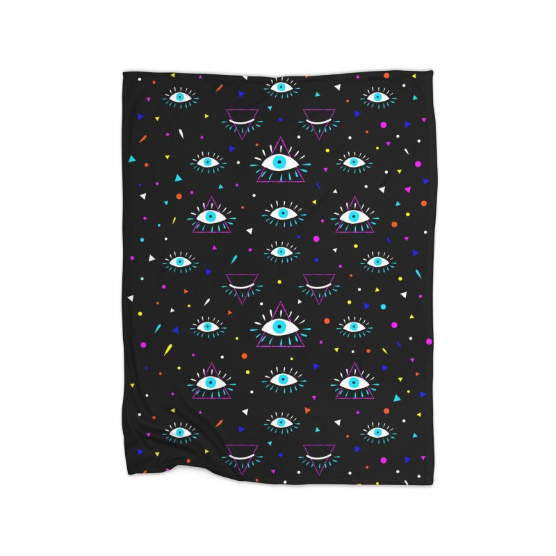Third Eye Home Blanket by achitafille's Artist Shop
