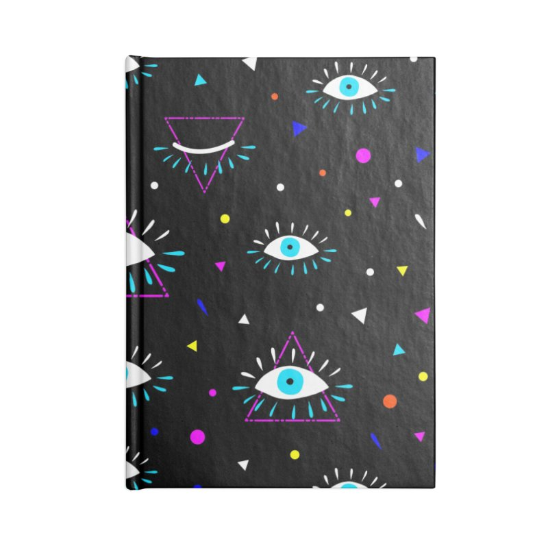 Third Eye Accessories Lined Journal Notebook by achitafille's Artist Shop