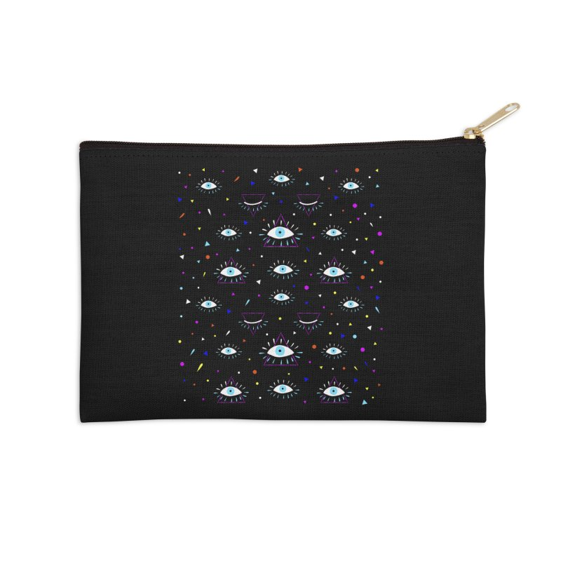 Third Eye Accessories Zip Pouch by achitafille's Artist Shop