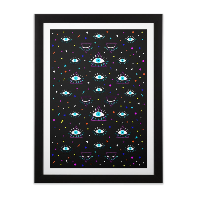 Third Eye Home Framed Fine Art Print by achitafille's Artist Shop