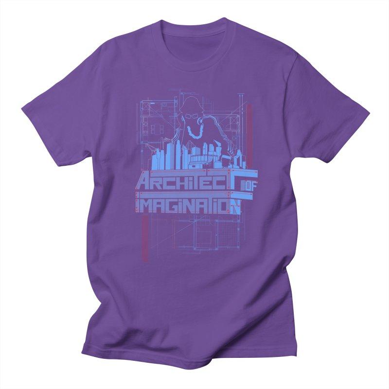 Architect of Imagination Men's Regular T-Shirt by The Wurx Shop