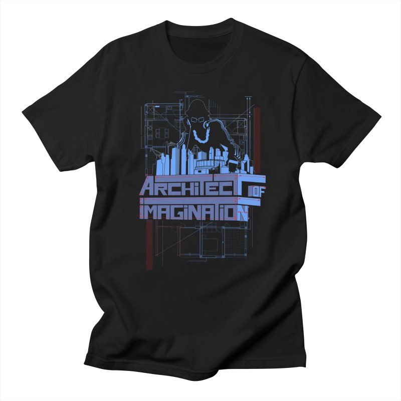 Architect of Imagination Men's Regular T-Shirt by The Wurx Shop