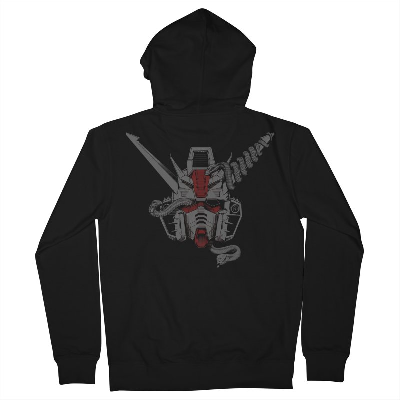 Machine and the Serpents Men's Zip-Up Hoody by The Wurx Shop