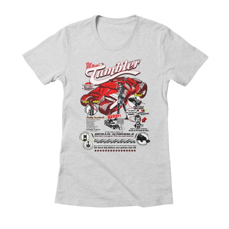 Gotham AutoMall Women's Fitted T-Shirt by The Wurx Shop