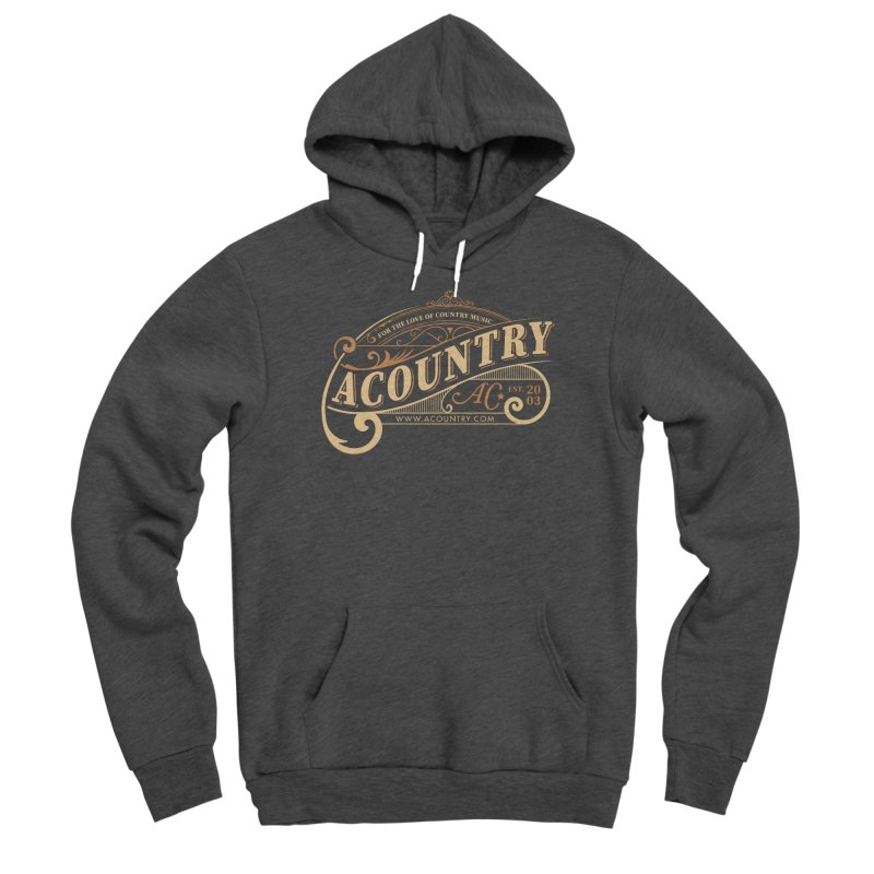 ACountry - For The Love Of Country Music Men's Pullover Hoody by ACountry General Store