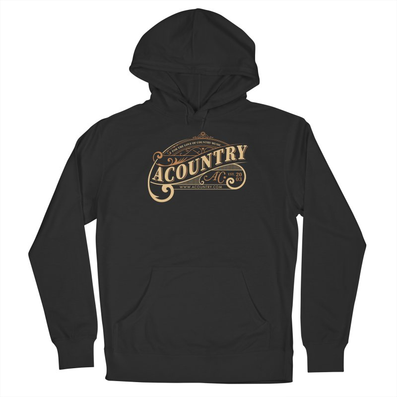 ACountry - For The Love Of Country Music Women's Pullover Hoody by ACountry General Store