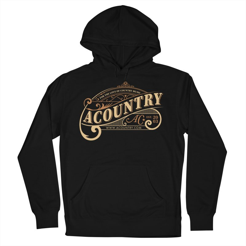 ACountry - For The Love Of Country Music Women's French Terry Pullover Hoody by ACountry General Store