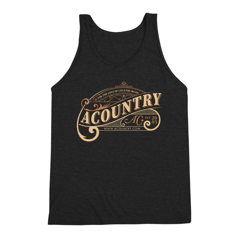 ACountry - For The Love Of Country Music Men's Tank by ACountry General Store