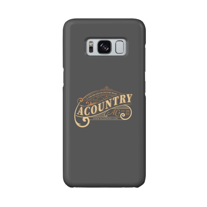 ACountry - For The Love Of Country Music Accessories Phone Case by ACountry General Store