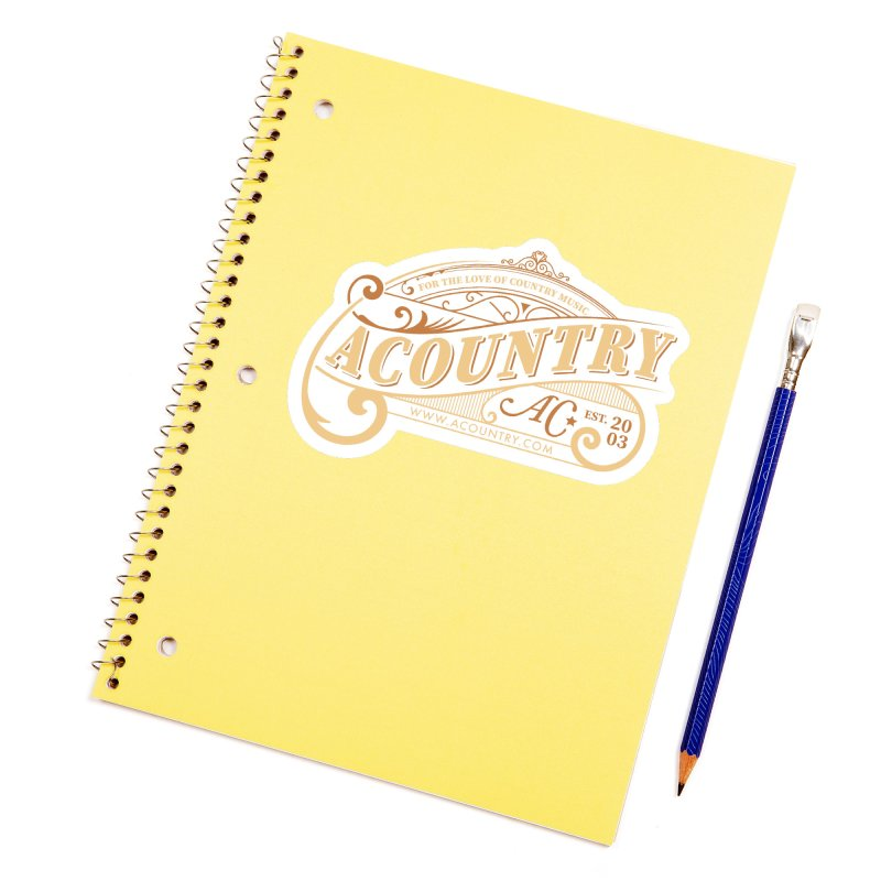 ACountry - For The Love Of Country Music Accessories Sticker by ACountry General Store