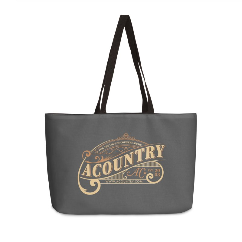 ACountry - For The Love Of Country Music Accessories Weekender Bag Bag by ACountry General Store