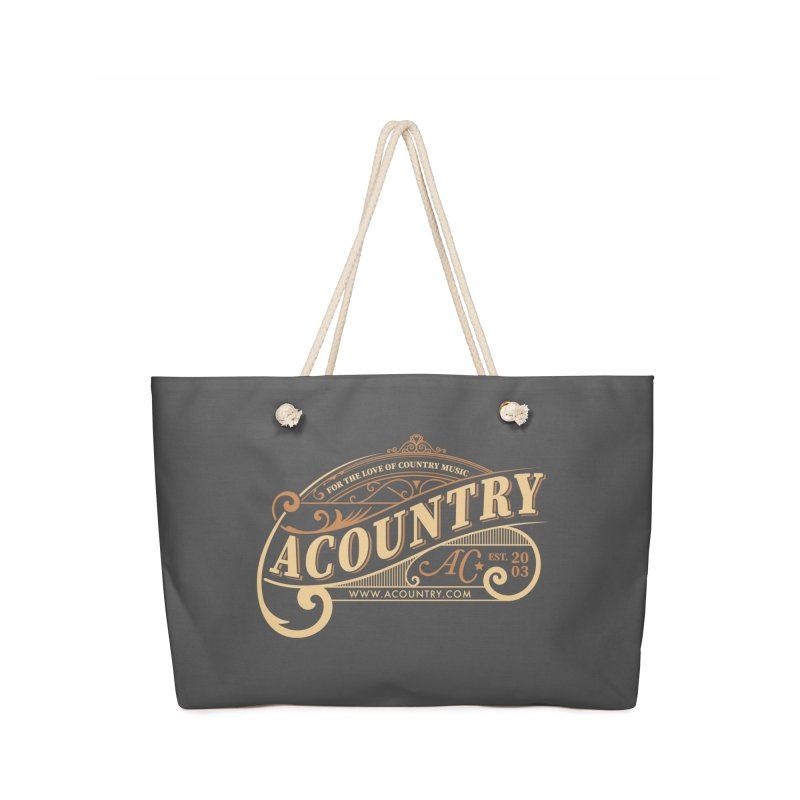 ACountry - For The Love Of Country Music Accessories Bag by ACountry General Store
