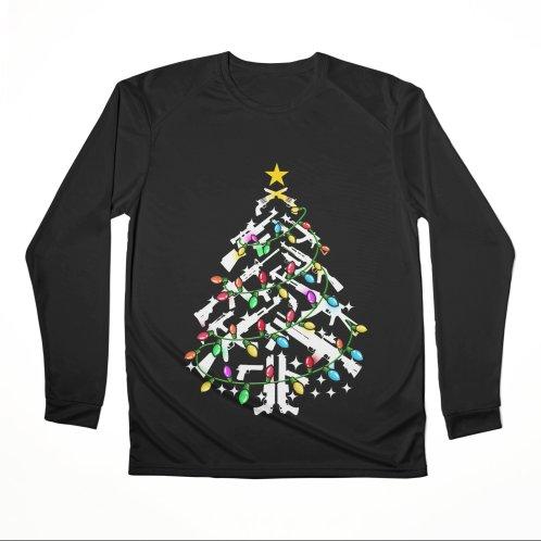 image for Guns Christmas Tree Ornament Xmas T-shirt