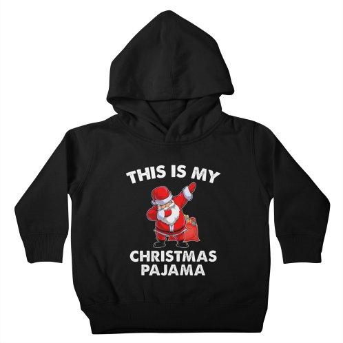 image for Santa Dabbing Pajamas Christmas Famlily T-shirt