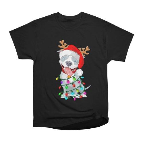 image for Pitbull Christmas Tree T-shirt For Men Women KId Pitbull Lover