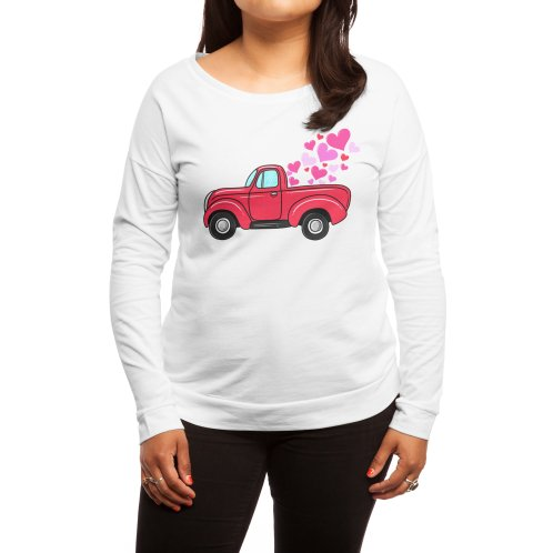 image for Valentine Truck Carrying T-shirt