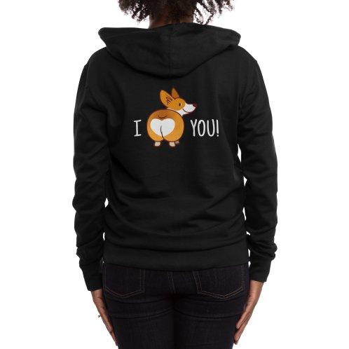 image for I love You Corgi Butt Valentine T-shirt
