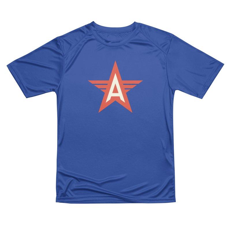 Actionhero Logo Women's Performance Unisex T-Shirt by Actionhero Swag!