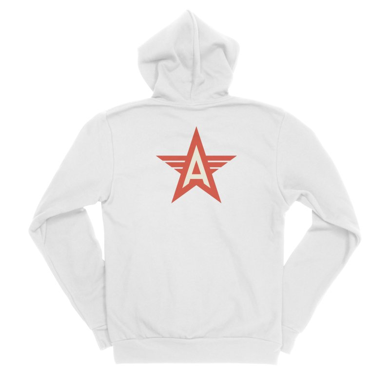 Actionhero Logo Men's Zip-Up Hoody by Actionhero Swag!