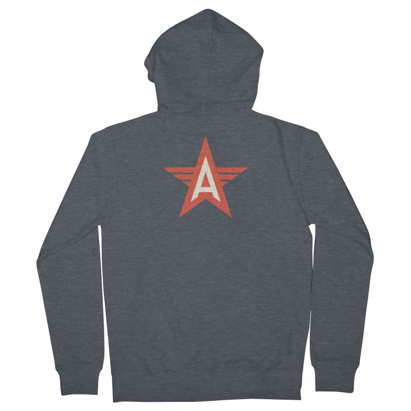 Actionhero Logo Men's French Terry Zip-Up Hoody by Actionhero Swag!