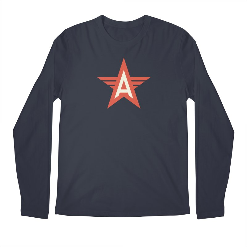 Actionhero Logo Men's Longsleeve T-Shirt by Actionhero Swag!