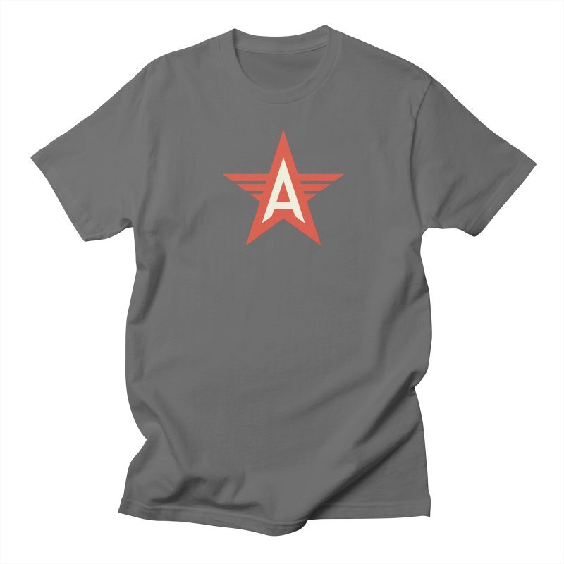 Actionhero Logo Men's Regular T-Shirt by Actionhero Swag!