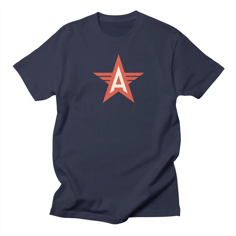 Actionhero Logo Women's Regular Unisex T-Shirt by Actionhero Swag!