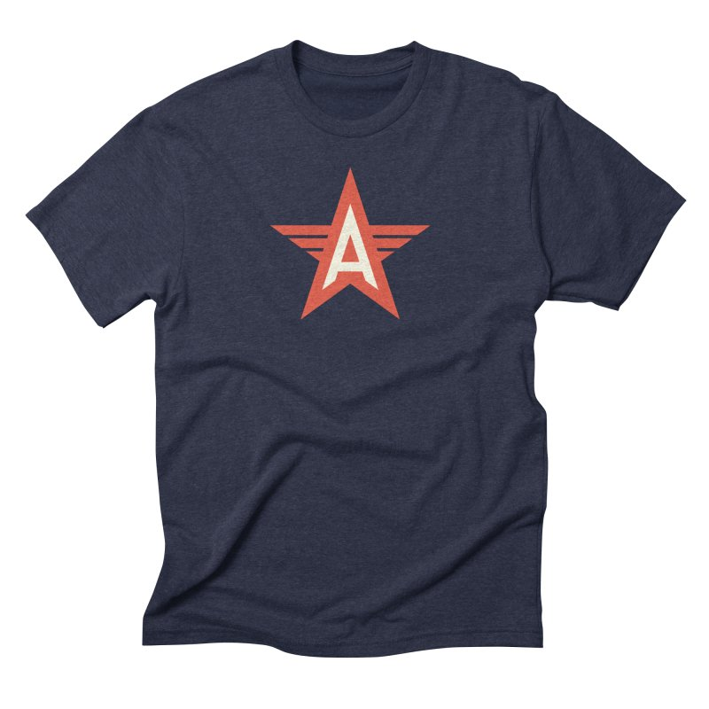 Actionhero Logo Men's Triblend T-Shirt by Actionhero Swag!