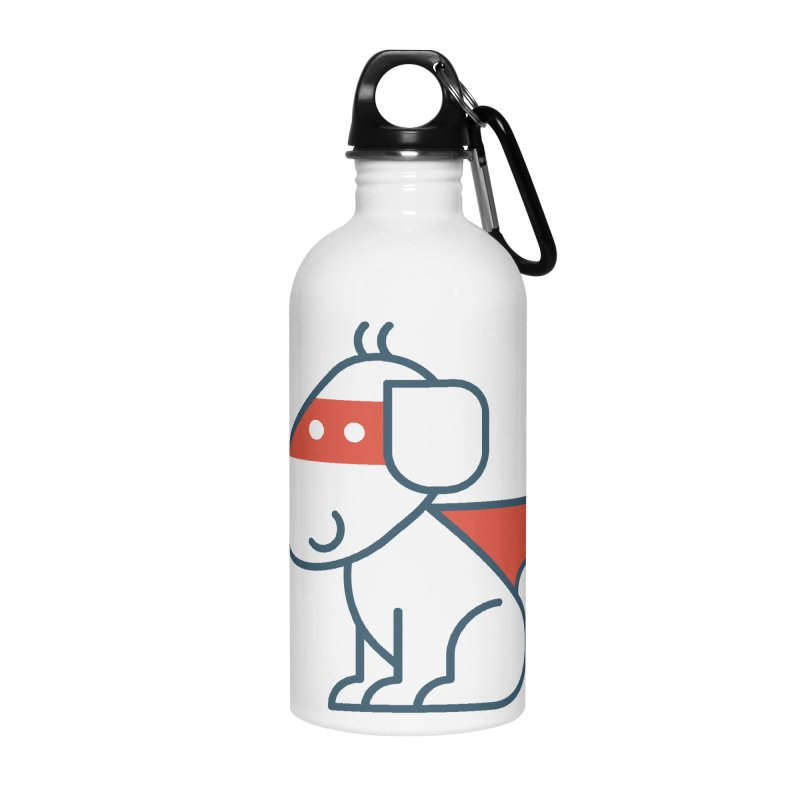 Actionhero Dog in Water Bottle by Actionhero Swag!