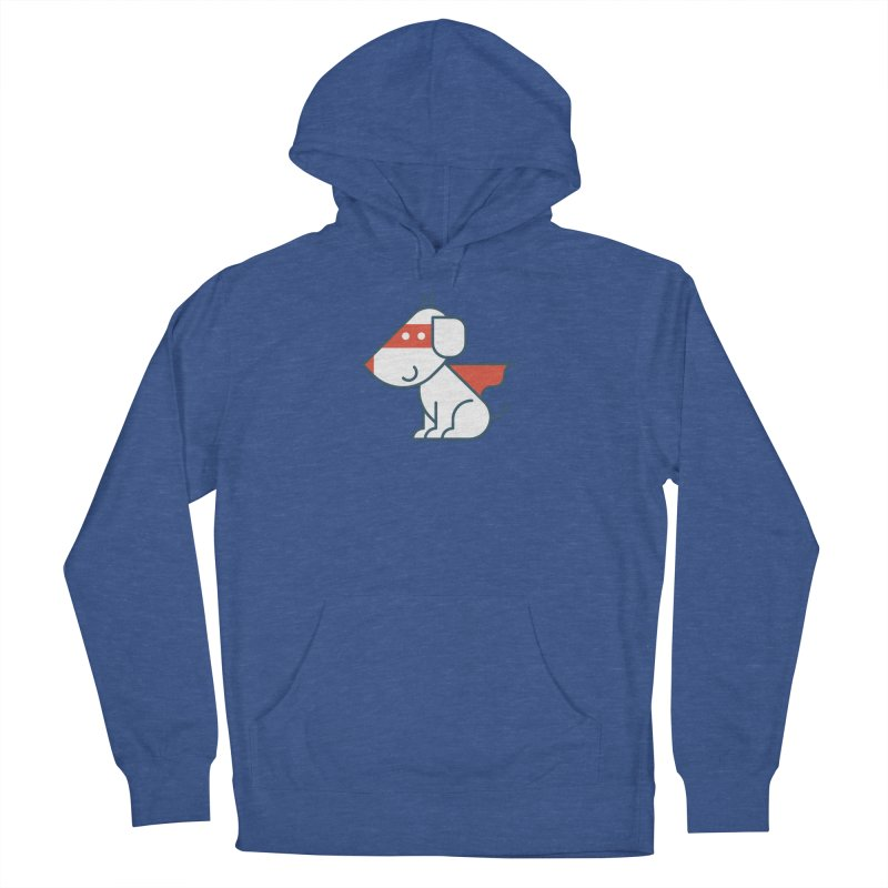 Actionhero Dog Men's French Terry Pullover Hoody by Actionhero Swag!