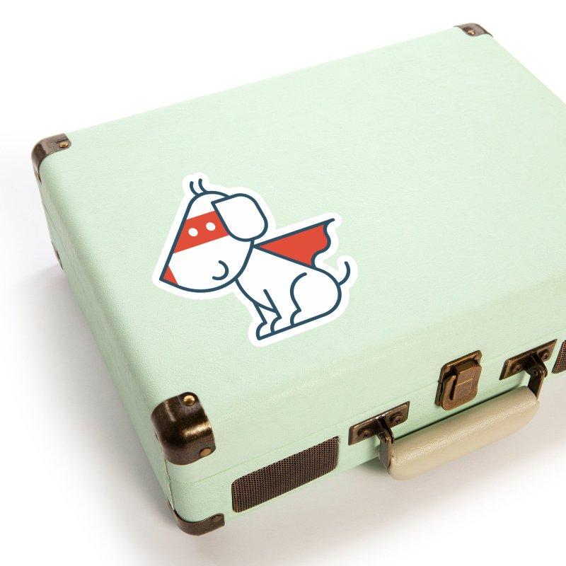 Actionhero Dog Accessories Sticker by Actionhero Swag!